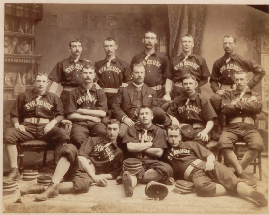 Syracuse Stars 1889 with Walker