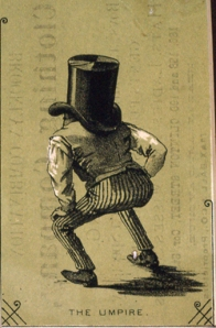 The Umpire, 1870s trade card