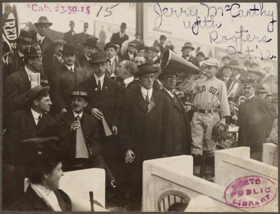 Boston Red Sox royal rooters, 1912