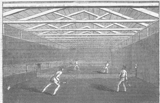 The Game of Tennis, New York Clipper, November 13, 1858.
