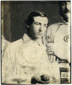 Jim Creighton, 1860.