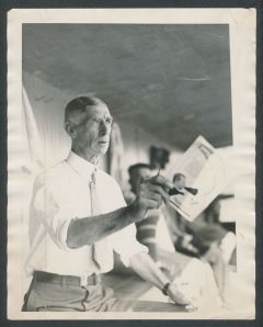 Connie Mack, 1928; Van Oeyen