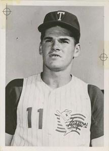 Pete Rose, Tampa, 1961.
