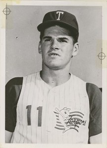 Pete Rose, Tampa, 1961.