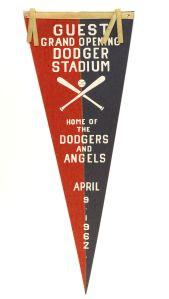 1962, Dodger Stadium opens.