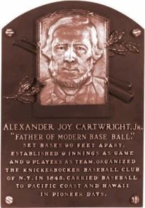 Cartwright Plaque