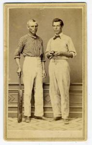 Harry Wright, Sam Wright, 1863 Benefit Game