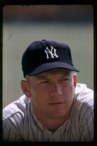 Mickey Mantle, 1955; Hy Peskin.