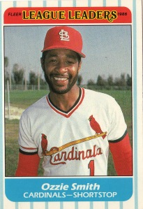 Ozzie Smith.