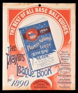 Players League Guide, 1890.