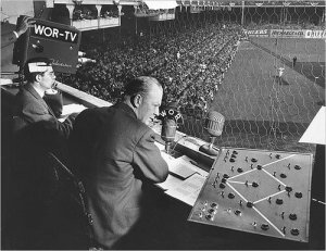 Red Barber from Ebbets Field.