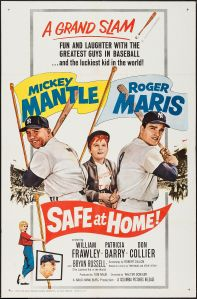 Safe at Home; Mantle, Maris 1962.