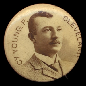 1898 Cameo Pepsin Gum Cy Young Pin