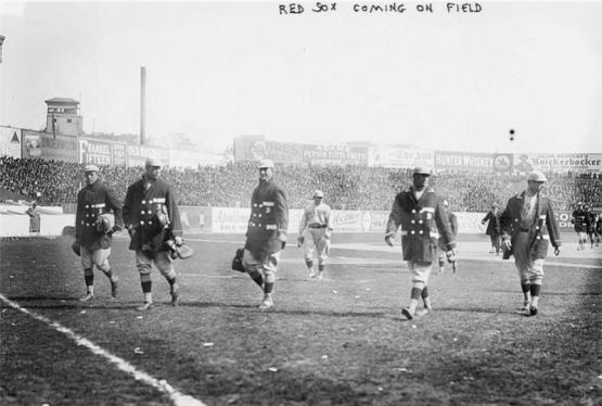 Boston Red Sox 1912 World Series.
