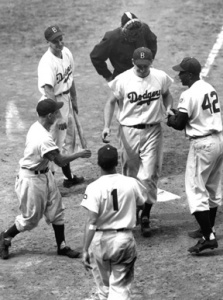 Hodges home run, 1949.