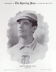 Marty Bergen in 1899.