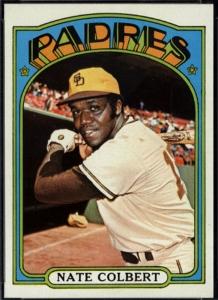 Nate Colbert, 1972 Topps.