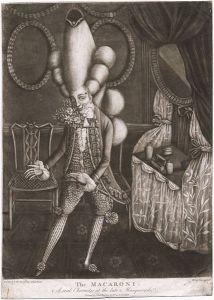 A Macaroni, 1773