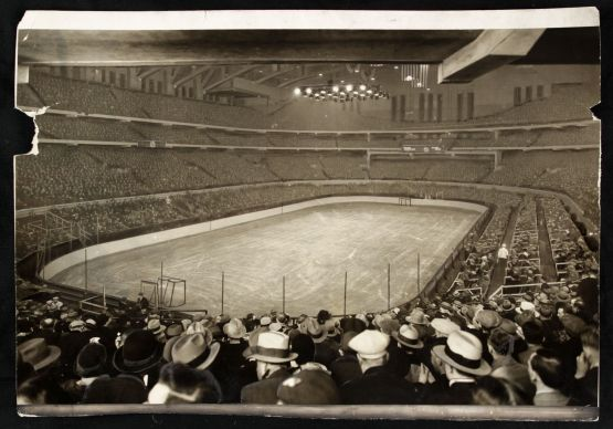 Chicago Stadium, NHL game, February 19, 1930.