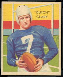 Dutch Clark, 1935 National Chicle card