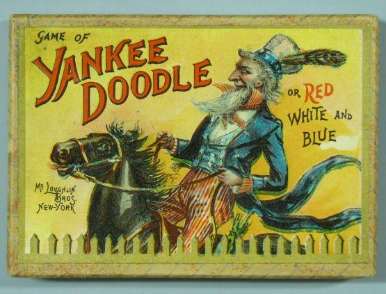 Game of Yankee Doodle, McLoughlin, 1899.