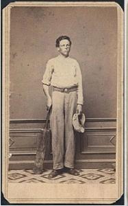 George Wright, 1863.