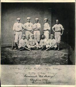 Mathew Brady's baseball photo missed the cut.