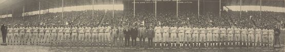 1924 Negro League World Series, Hilldale of Darby, PA vs. Kansas City Monarchs.