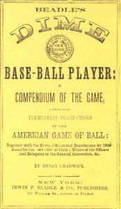 Beadle Dime Base-Ball Player, 1860