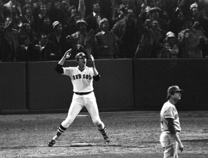 Carlton Fisk HR, Harry Cabluck, AP