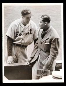 Hank Greenberg and Joe Louis
