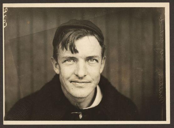 23. Christy Mathewson portrait, 1910; Paul Thompson.