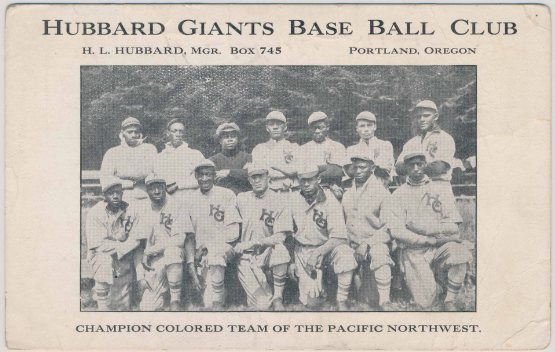 1914 Hubbard Colored Giants, Jimmy Claxton at lower right.