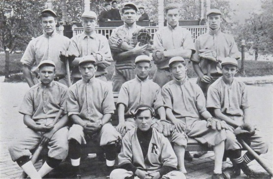 Babe Ruth and His Baseball Team, St. Mary's Industrial School For Boys.