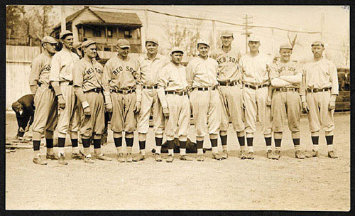 Boston Red Sox with Ruth, 1915 spring training