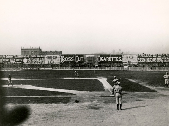 Polo Grounds, Opening Day 1886,  N-YHS.