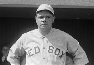 Babe Ruth in 1919.