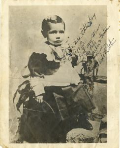 The Babe, age 3.