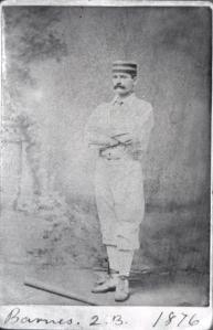 Ross Barnes, 1876.