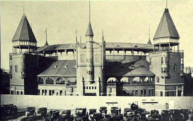 Boston's South End Grounds as built, 1888-94