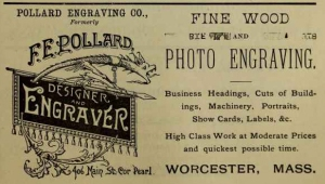 F.E. Pollard in Worcester City Directory, 1889, p_edited-1