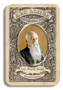 Col. Frank Jones, via Ars Longa