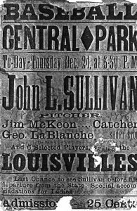 John L Sullivan in San Francisco,  1886