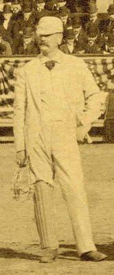 Umpire Charles Daniels, April 25, 1888.