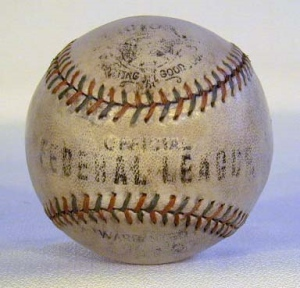 Official Federal League baseball