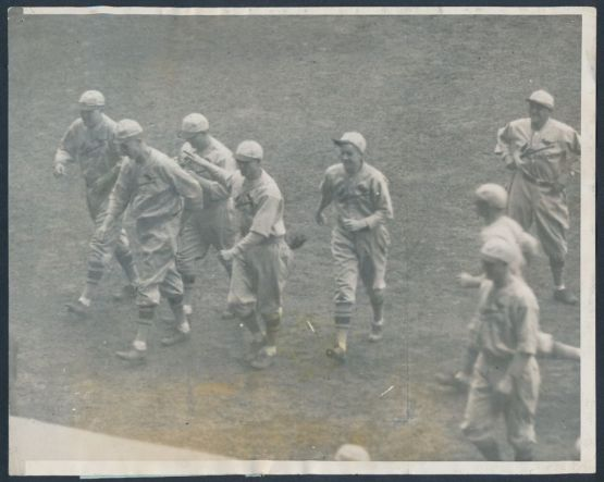 1926 Worl Series, Game 7: Grover C. Alexander FansTony Lazzeri, Walks to Dugout
