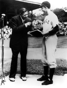 Babe Ruth, George Bush, Yale 1947