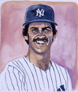 Ron Guidry, by Jim Trusilo