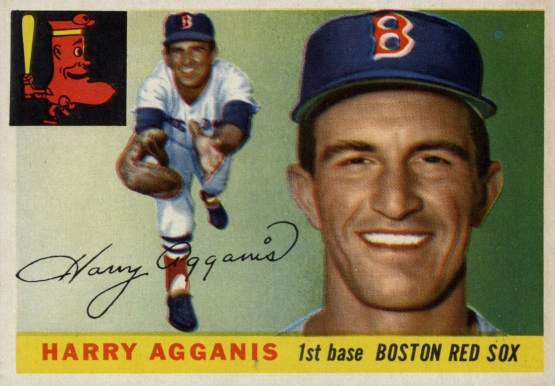 Harry Agganis, Topps 1955