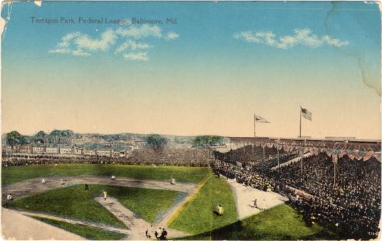 Terrapin Park, Federal League, Baltimore